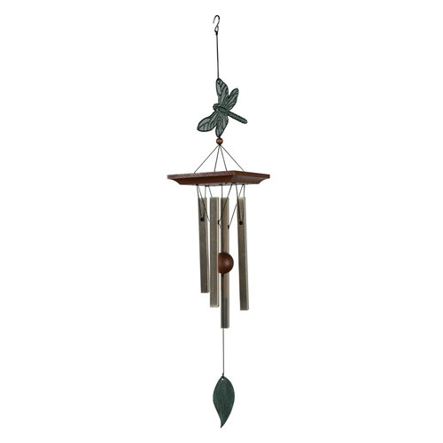 Wind Chime Garden Decor, Dragonfly, ca. 62 cm
