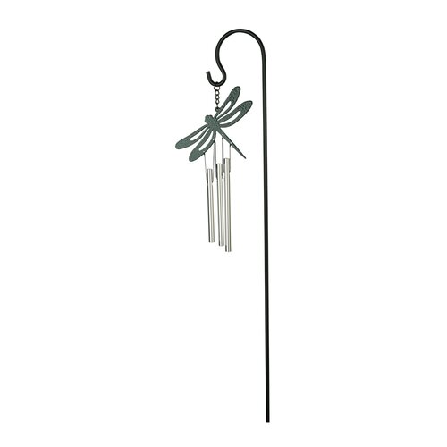Musical Ornament Stake Chimes, DRAGONFLY