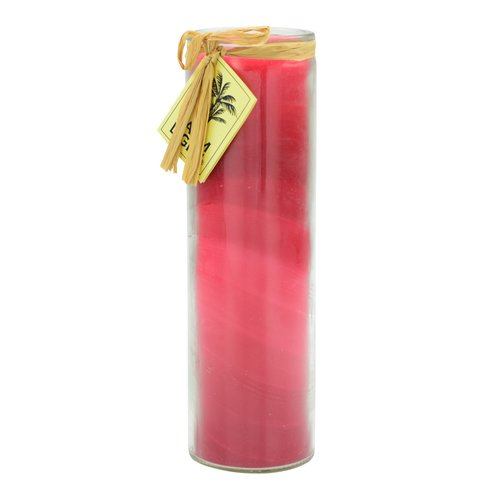 Feng Shui NUANCE candle, about 20 cm, RED