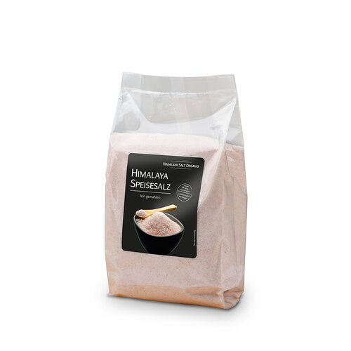 Basic Pack Crystal Salt, orange, 1 kg, ca. 0,5-1mm
