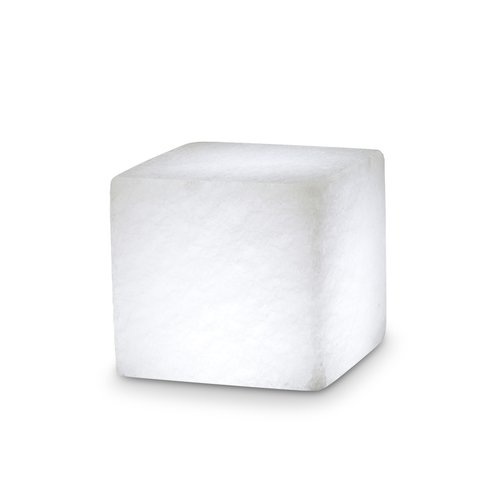 Salt Crystal CUBE, White Line