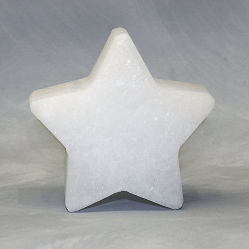 Salt Crystal STAR, White Line